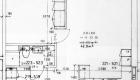 Asuntojen 5, 11, 17, 23 ja 29 pohjapiirros. Osa asunnoista on peilikuvia.