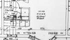 Asuntojen 37, 43, 49 ja 55 pohjapiirros. Osa asunnoista on peilikuvia.