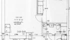 Asuntojen 35, 41, 47, 53 ja 59 pohjapiirros. Osa asunnoista on peilikuvia.