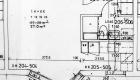 Asuntojen 7, 13, 19 ja 25 pohjapiirros. Osa asunnoista on peilikuvia.