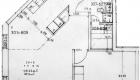 Asuntojen 7, 11, 15 ja 19 pohjapiirros. Osa asunnoista on peilikuvia.